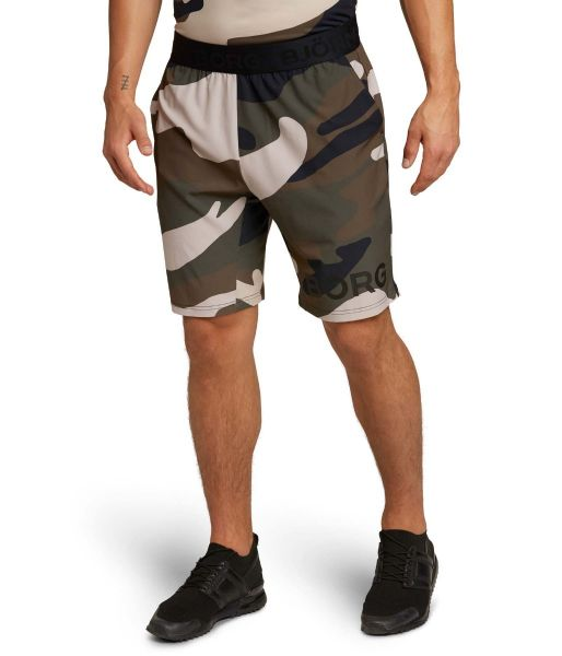 Bjorn Borg Mens august running shorts camo print