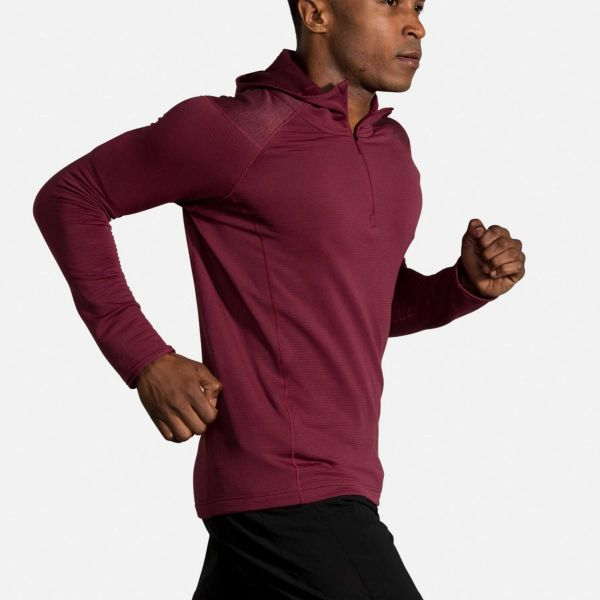 Brooks Men's Notch Thermal Hoodie