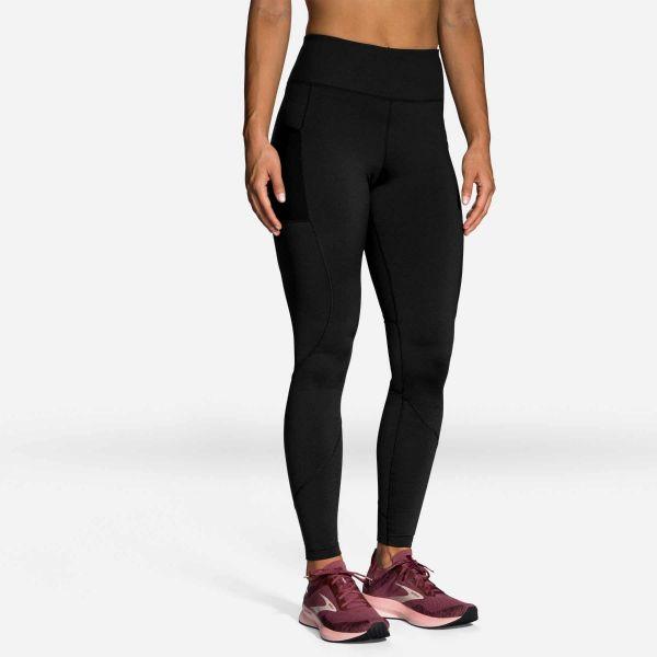 BRooks womens Momentum thermal running tights