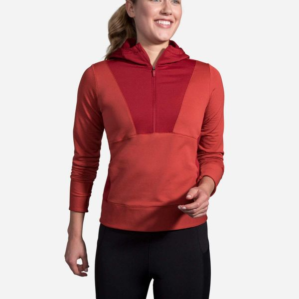 Brooks Women's Notch Thermal Hoodie
