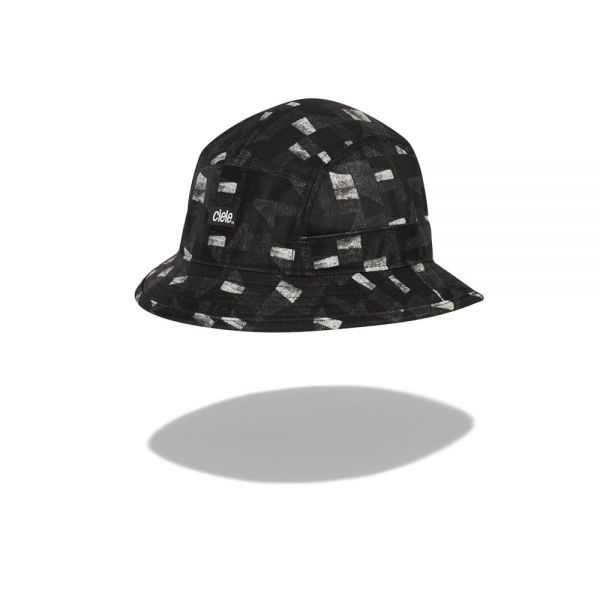 Ciele Bucket Hat Standard Small Allover Panels 'Whitaker' Running Hat