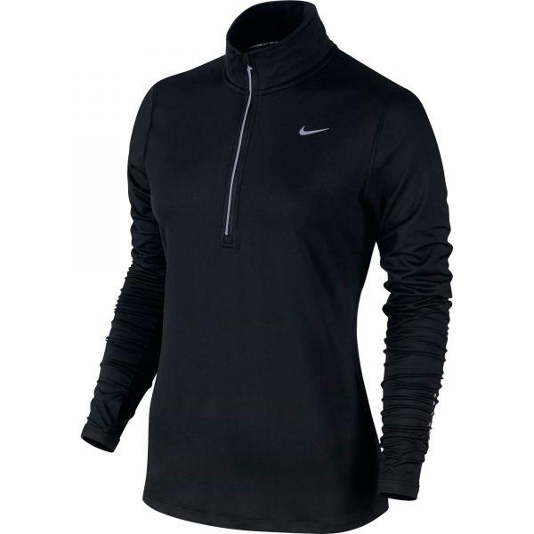 Nike Women's Element 1/2 Zip Long Sleeve Running Top