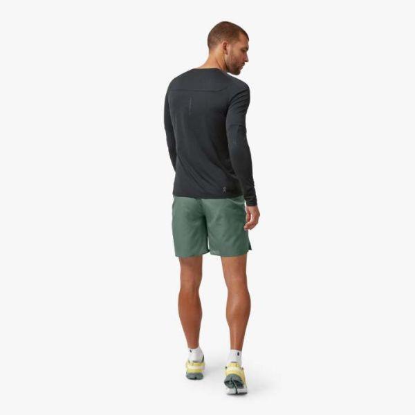 On Men's Performance Running Long-T