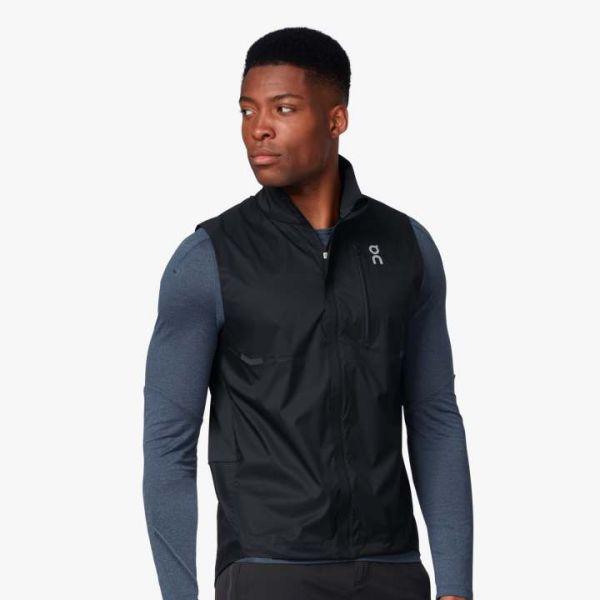 On Men's Weather Running Vest