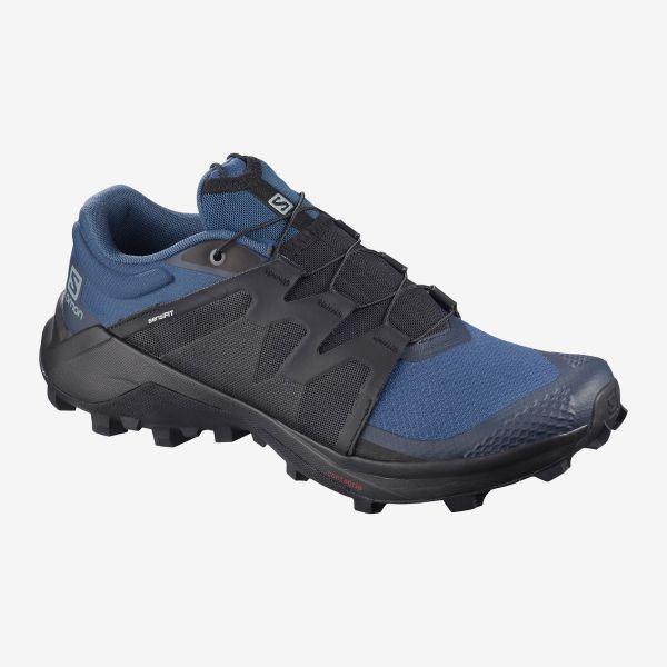 salomon mens wildcross trail running shoe