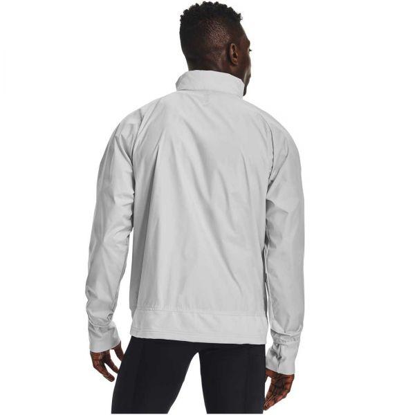 Under Armour Men's Run Insulate Hybrid Running Jacket grey