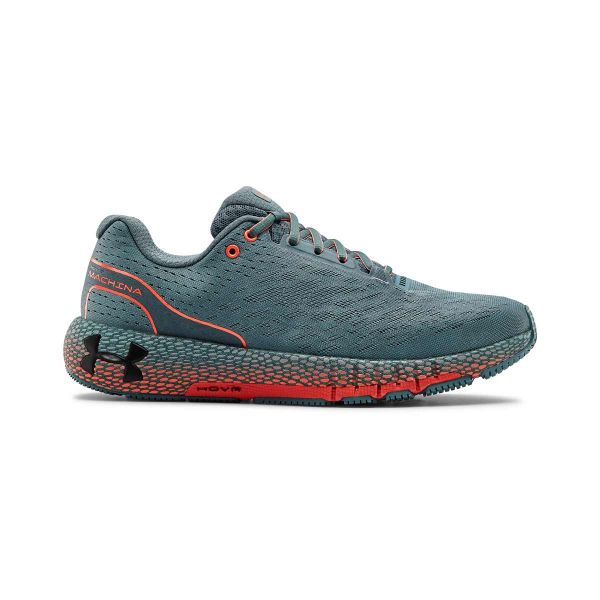 under armour mens hover machina running shoes grey