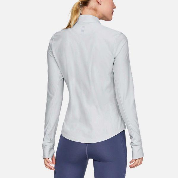 Under Armour Women's Qualifier Half Zip Long Sleeve Running Tee